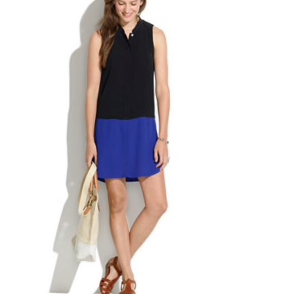 Madewell Dresses & Skirts - Madewell colorblock button up tunic